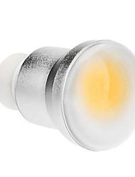 Недорогие -1шт 3 W 150-180 lm GU10 Круглые LED лампы 1 Светодиодные бусины COB Тёплый белый 85-265 V