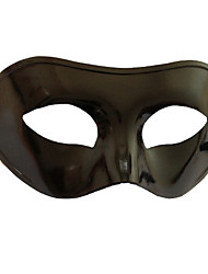 cheap -Carnival Mask Men's Women's Halloween Carnival New Year Festival / Holiday Halloween Costumes Black Solid Colored