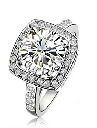 cheap -Women's Statement Rings Fashion Crystal Jewelry Wedding Party Casual