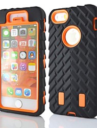abordables -Funda Para Apple iPhone X iPhone 8 iPhone 8 Plus Funda iPhone 5 Antigolpes Funda de Cuerpo Entero Armadura Dura ordenador personal para