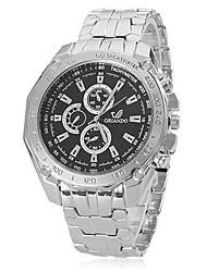 Men's Watch Fashion Dress Watch Alloy Band Wrist Watch Cool Watch Unique Watch