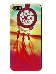 cheap -Case For iPhone 5 / Apple iPhone 5 Case Pattern Back Cover Dream Catcher Hard PC for iPhone SE / 5s / iPhone 5