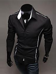 povoljno -Majica Muškarci-Chic & Moderna Dnevni Nosite Jednobojni