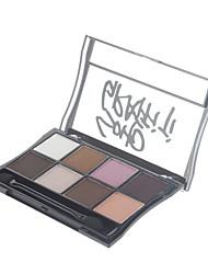 billige -8 farver Øjenskygger / Pudder Øjne Daglig makeup / Rygende makeup Makeup Kosmetiske