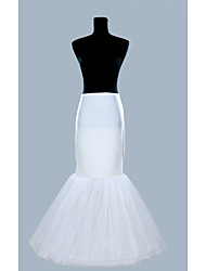 Wedding Special Occasion Slips Polyester Organza Floor-length Mermaid and Trumpet Gown Slip With