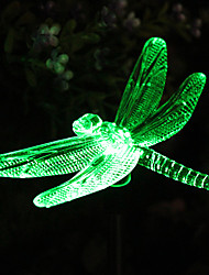 cheap -Solar Color-Changing Dragonfly Garden Stake Light(CSS-57273)