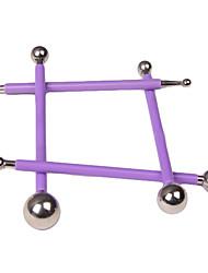 economico -Gli attrezzi della torta di cottura dell'acciaio inossidabile diy 4pcs 8 gli attrezzi del fondente della penna di testa per la torta