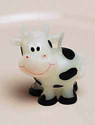 Smilende Cow Candle