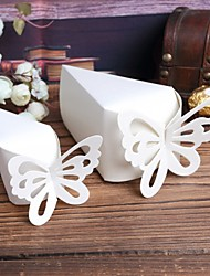 cheap -Pyramid Card Paper Favor Holder With Favor Boxes-10 Wedding Favors