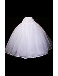 cheap -Wedding Special Occasion Slips Organza Floor-length Ball Gown Slip With