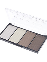 4 Eyeshadow Palette Dry / Mineral Eyeshadow palette Cream Normal Daily Makeup