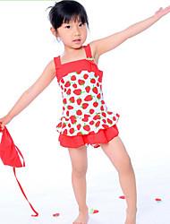 Girl Strawberry Printing Bademode