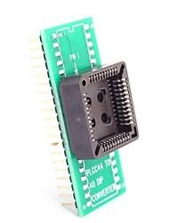cheap -PLCC44 to DIP40 / PLCC44 Turn DIP40 for IC Testing Seat Module Adapter