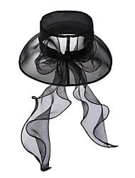 Elegant Organza  Wedding/ Party/ Outdoor  Hat With Sequin(More Colors)