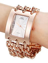 abordables -Mujer Reloj de Moda Cuarzo Gran venta Banda Encanto Oro Rosa