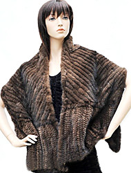 cheap -Fur Wraps Shawls Feather/Fur Black / Coffee Party/Evening / Casual