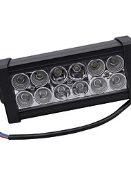 cheap -36W Mixing light 6000K 12-Epistar LED work light Bar DIY used in Car/Boat/Auto headlight