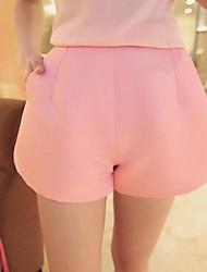 povoljno -Žene Classic & Timeless Kratke hlače Vrećasti Shorts Hlače Jedna barva