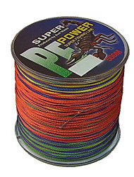 cheap -500M / 550 Yards PE Braided Line / Dyneema / Superline Fishing Line Assorted Colors 80LB / 70LB / 100LB 0.4;0.45;0.5 mm ForSea Fishing /