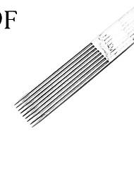 Недорогие -50pcs/box 9F татуировки стерилизовать иглы