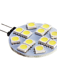 G4 LED Spotlight 12 SMD 5050 420 lm Cold White 5500-6500 K DC 12 V