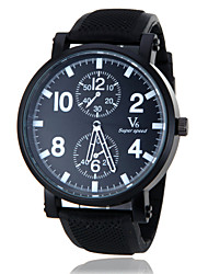 cheap -V6 Men's Quartz Japanese Quartz Sport Watch Hot Sale Band Charm Black