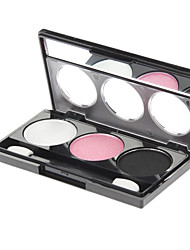 cheap -3 Eyeshadow Palette Shimmer Eyeshadow palette Powder Normal Daily Makeup