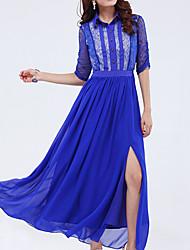 povoljno -Zhulifang Ženska boemski stil šifon haljina