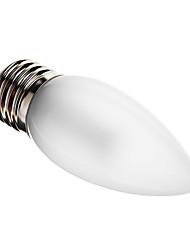 baratos -180-210 lm E26/E27 Luzes de LED em Vela C35 25 leds SMD 3014 Decorativa Branco Quente Branco Frio AC 220-240V