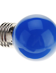 cheap -0.5W 50 lm E26/E27 LED Globe Bulbs G45 7 leds Dip LED Decorative Blue AC 220-240V