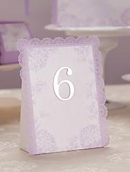 cheap -Romantic Lilac Wedding Place Card - Set of 10