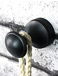 Robe Hook / Oil Rubbed Bronze Brass /Traditional