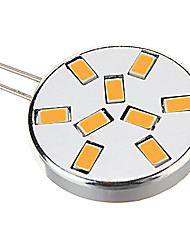G4 Faretti LED 9 SMD 5730 450 lm Bianco caldo Luce fredda 3000 K AC 12 V