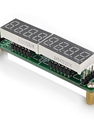 DIY  8-Segment LED Display Board Module for (For Arduino) (Works with Official (For Arduino) Boards)