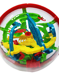 cheap -Balls Maze & Sequential Puzzles Maze Ball Toys Fun Plastic Classic Pieces Children's Gift