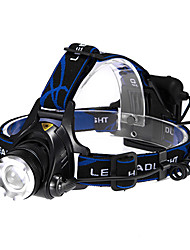 cheap Head lamps-Headlamps LED 600lm 3 Mode Zoomable / Adjustable Focus / Tactical Multifunction