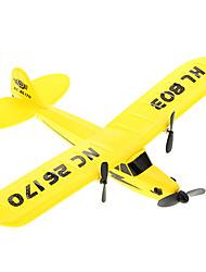 abordables -PIPER J3 CUB 2.4G EPP RC Avión Súper Planeador