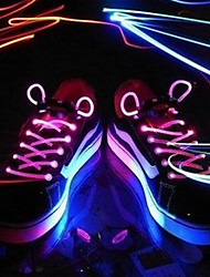 Light Up LED luminoso Shoeslace 1 coppia Pack (più colori)