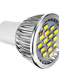 cheap -400 lm E14 GU10 GU5.3(MR16) E26/E27 LED Spotlight 15 leds SMD 5730 Dimmable Warm White Cold White AC 220-240V