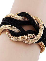 cheap -Simple Metal Braided Temperament Bracelet