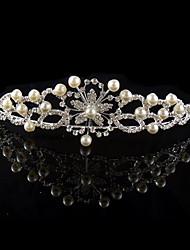 Nozze gioielli in argento placcato diademi dei capelli