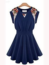 Kvinder europæisk ærmer Lace Dress