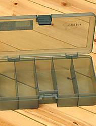 Недорогие -210 * 118 * 45MM Army Green Рыбалка Box снасти Box