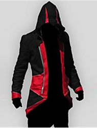 cheap -Inspired by Assassin Cosplay Video Game Cosplay Costumes Cosplay Suits Patchwork Long Sleeves Coat