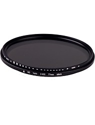 77mm Slim Fader Variabele ND Filter Verstelbare ND2 naar Neutral Density ND400