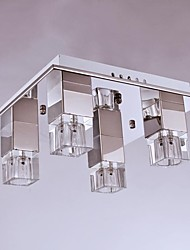 Flush Mount ,  Modern/Contemporary Chrome Feature for Crystal Metal Bedroom Dining Room Study Room/Office Kids Room