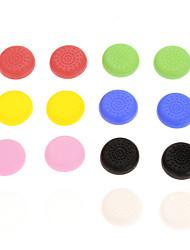 16pcs Colorful Nonslip Silicone cap PS4 Controller