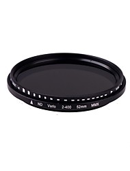 Neue Slim-Fader Variable ND Filter 52mm verstellbar ND2 auf Neutral Density Hohe Anzahl VERSANDKOSTEN ND400