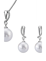 Women's Jewelry Set Imitation Pearl Luxury Wedding Party Special Occasion Anniversary Birthday Engagement Daily Pearl Imitation Pearl