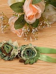 abordables -Accessoires Cheveux Toutes les Saisons Autres Mousseline de soie Bandeaux Bandanas Fille Garçon - Violet Vert Bleu Rose Rose foncé